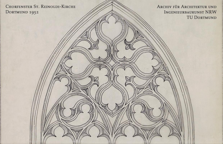 Chorfenster der St. Reinoldi-Kirche Dortmund